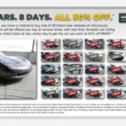 32 new cars at half the price from eBay