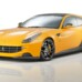 Carbon-fiber aerodynamic-enhanced Ferrari FF