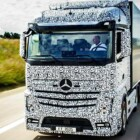 Self-Driving Mercedes-Benz Future Truck 2025